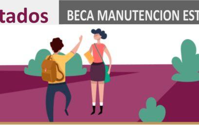 BECAS MANUTENCIÓN 2019