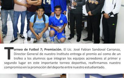 TORNEO DE FUTBOL 7
