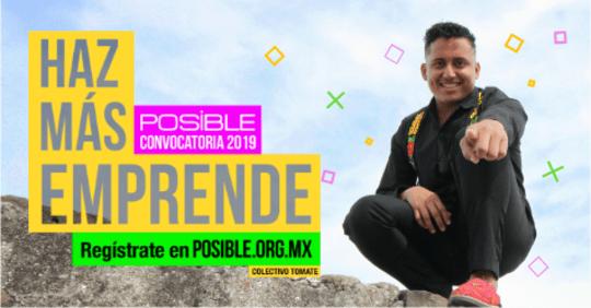 CONVOCATORIA DEL PROGRAMA EMPRENDIMIENTO POSIBLE Y la Fundación Televisa