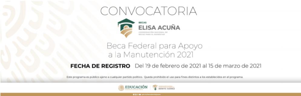 Becas Elisa Acuña 2021